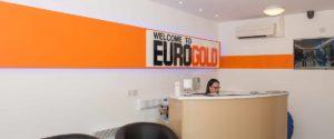 Euro-Gold Reception